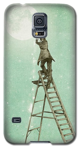 Waning Moon Galaxy S5 Case by Eric Fan