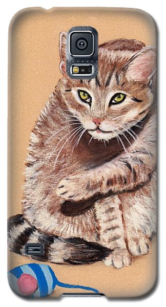 Galaxy S5 Case featuring the painting Want To Play by Anastasiya Malakhova