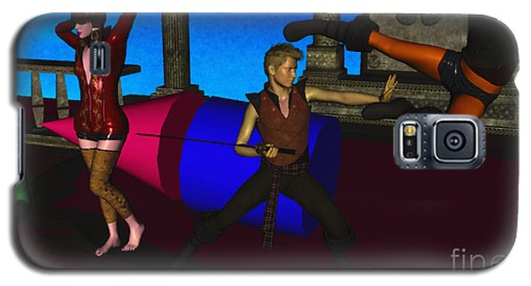 War And Peace In 3d Galaxy S5 Case