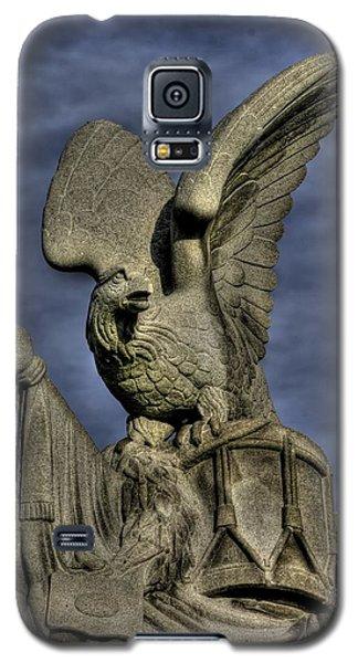 Galaxy S5 Case featuring the photograph War Eagles - 88th Pa Volunteer Infantry Cameron Light Guard-a1 Oak Hill Autumn Gettysburg by Michael Mazaika
