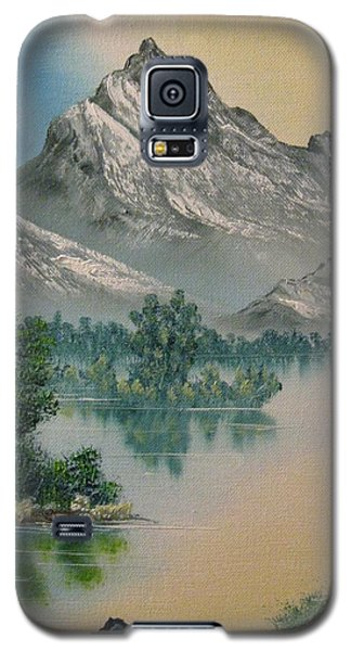 Galaxy S5 Case featuring the painting Warm Feelings by Brian Johnson