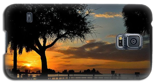Galaxy S5 Case featuring the photograph Warm Glowing Sunset by Richard Zentner