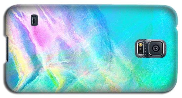 Warm Seas- Abstract Art Galaxy S5 Case
