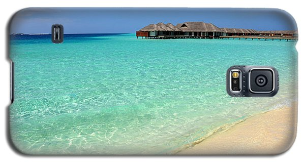 Warm Welcoming. Maldives Galaxy S5 Case by Jenny Rainbow