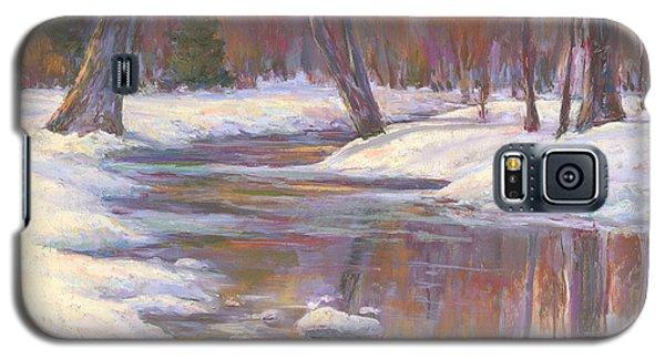 Warm Winter Reflections Galaxy S5 Case