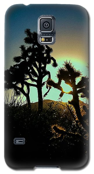 Warmed By The Golden One Galaxy S5 Case by Angela J Wright