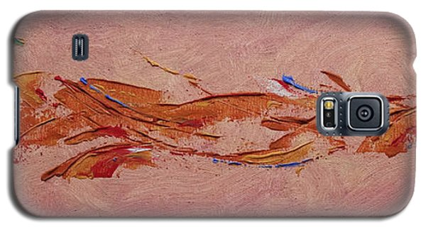 Galaxy S5 Case featuring the painting Warmth by Arlene Sundby