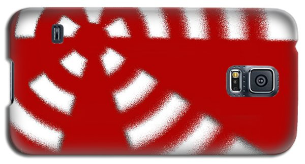Galaxy S5 Case featuring the digital art Warning by Jeff Iverson