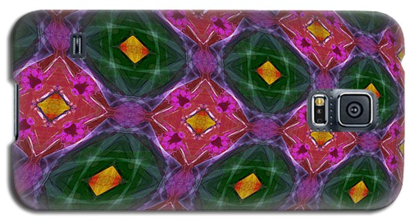 Warped Kaleidoscopic Lattice Galaxy S5 Case