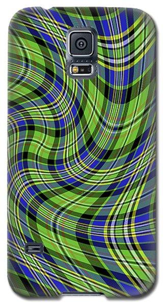 Warped Scott Ancient Green Tartan Galaxy S5 Case