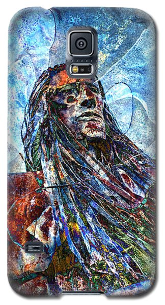 Galaxy S5 Case featuring the photograph Warrior by James Bethanis