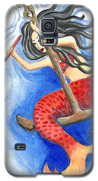 Warrior Mermaid Galaxy S5 Case