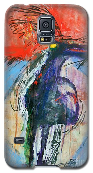 Galaxy S5 Case featuring the painting Warrior Shaman by Ron Stephens