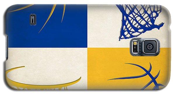 Warriors Ball And Hoop Galaxy S5 Case by Joe Hamilton
