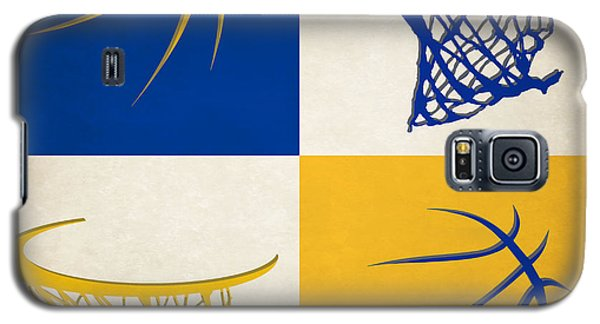 Warriors Ball And Hoop Galaxy S5 Case