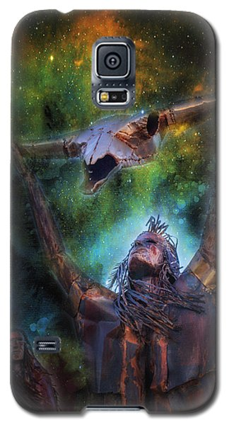 Galaxy S5 Case featuring the photograph Warriors by James Bethanis