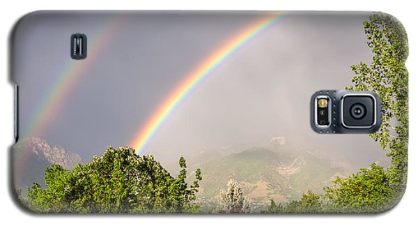 Wasatch Rainbow Galaxy S5 Case