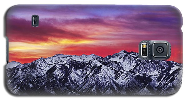 Wasatch Sunrise 2x1 Galaxy S5 Case by Chad Dutson