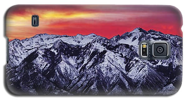Wasatch Sunrise 3x1 Galaxy S5 Case by Chad Dutson