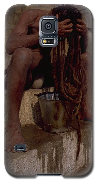 Varanasi Hair Wash Galaxy S5 Case
