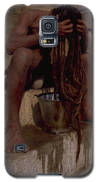 Varanasi Hair Wash Galaxy S5 Case