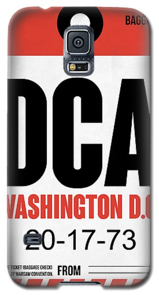 Washington D.c. Airport Poster 1 Galaxy S5 Case by Naxart Studio