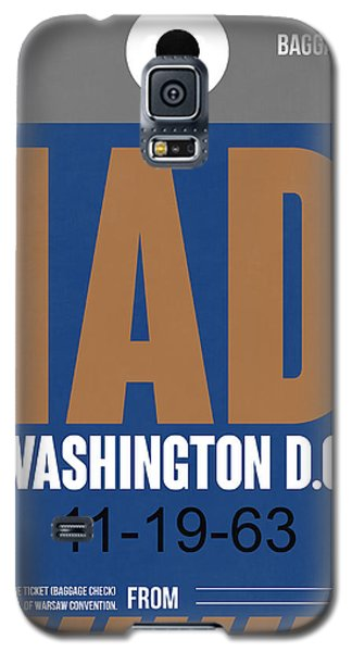Washington D.c. Airport Poster 4 Galaxy S5 Case by Naxart Studio