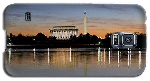 Washington Dc - Lincoln Memorial And Washington Monument Galaxy S5 Case