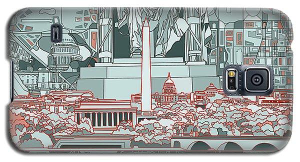 Washington Dc Skyline Abstract Galaxy S5 Case