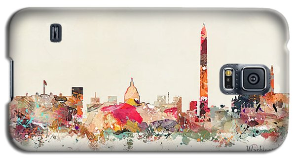 Washington Dc Skyline Galaxy S5 Case