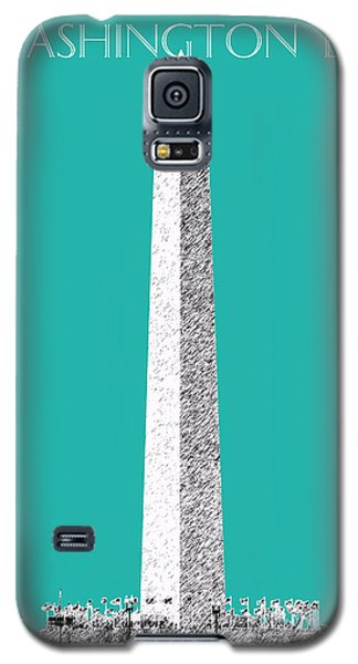 Washington Dc Skyline Washington Monument - Teal Galaxy S5 Case