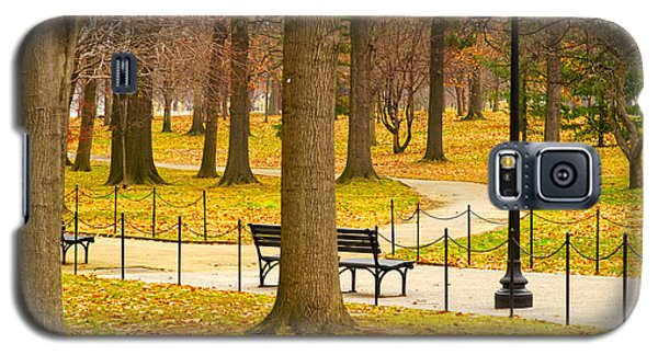 Washington Dc's Memorial Parks In The Winter Galaxy S5 Case by MaryJane Armstrong