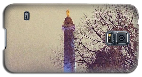 Washington Monumen Pre-lighting Galaxy S5 Case
