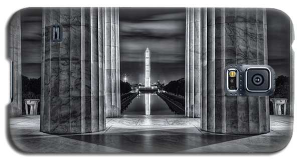 Washington Monument From Lincoln Memorial II Galaxy S5 Case
