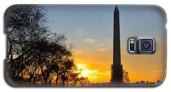 Washington Monument Under Repair Galaxy S5 Case