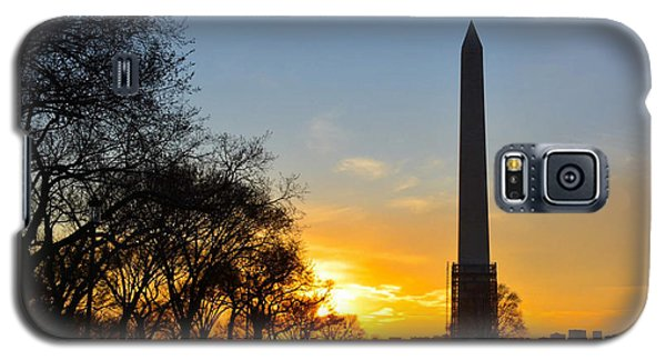 Washington Monument Under Repair Galaxy S5 Case