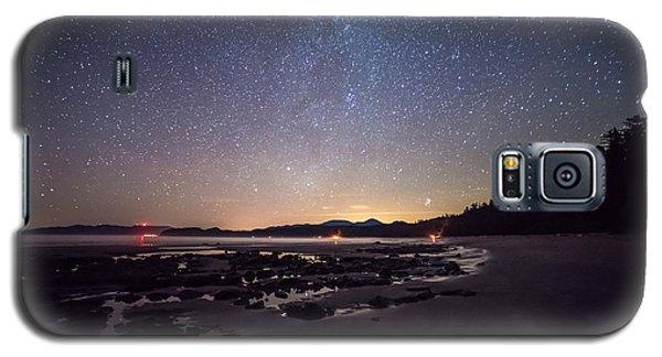 Washington Olympic Night Sky Meteor Galaxy S5 Case