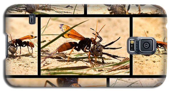 Wasp And His Kill Galaxy S5 Case by Miroslava Jurcik