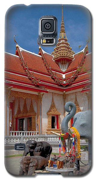 Wat Chalong Wiharn And Elephant Tribute Dthp045 Galaxy S5 Case