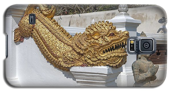 Wat Chedi Liem Phra Ubosot Gate Makara Dthcm0836 Galaxy S5 Case
