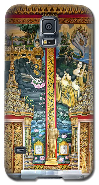 Galaxy S5 Case featuring the photograph Wat Choeng Thale Ordination Hall Facade Dthp143 by Gerry Gantt