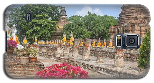 Wat Phra Chao Phya-thai Buddha Images And Ruined Chedi Dtha004 Galaxy S5 Case