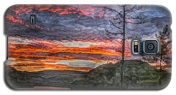 Watauga Lake Sunset Galaxy S5 Case by Tom Culver