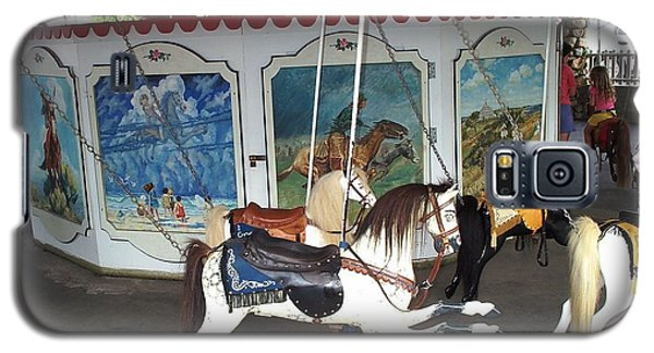 Galaxy S5 Case featuring the photograph Watch Hill Merry Go Round by Barbara McDevitt