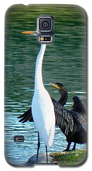 Galaxy S5 Case featuring the photograph Watch This by Deb Halloran
