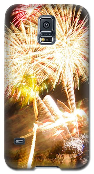 Galaxy S5 Case featuring the photograph Watching Fireworks by Haleh Mahbod