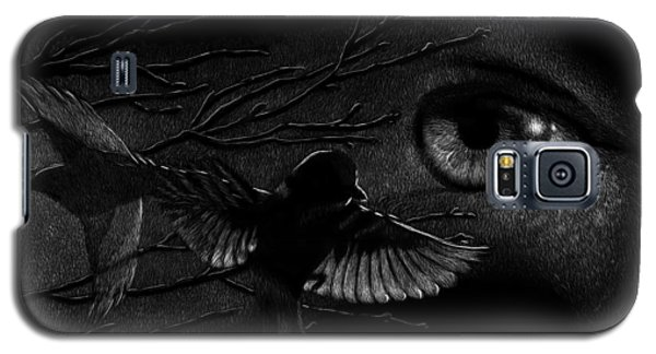 Watching Over Sparrows Galaxy S5 Case by Sandra LaFaut