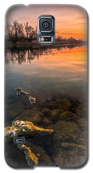 Watching Sunset Galaxy S5 Case by Davorin Mance
