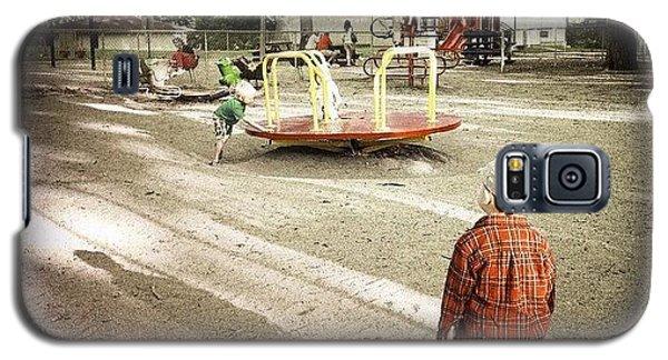 Ohio Galaxy S5 Case - Watching The Big Kids by Natasha Marco