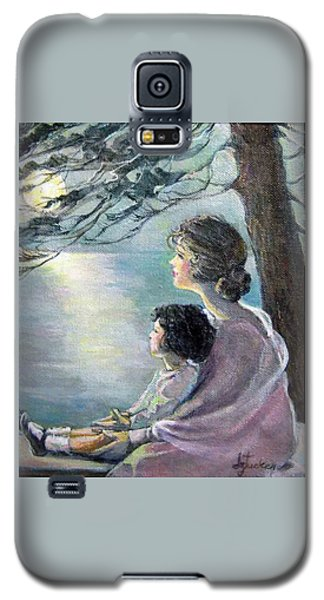 Watching The Moon Galaxy S5 Case